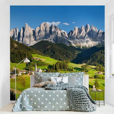 Fototapete Geislerspitzen in Südtirol
