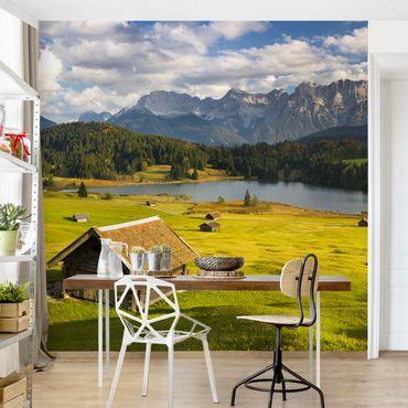 Fototapete - Geroldsee Oberbayern