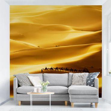 Fototapete Golden Dunes