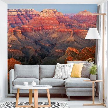 Fototapete Grand Canyon nach dem Sonnenuntergang