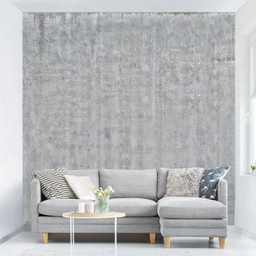 Fototapete Große Wand mit Betonlook