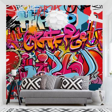 Fototapete HipHop Graffiti