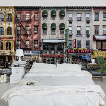 Fototapete Kalter Tag in NY