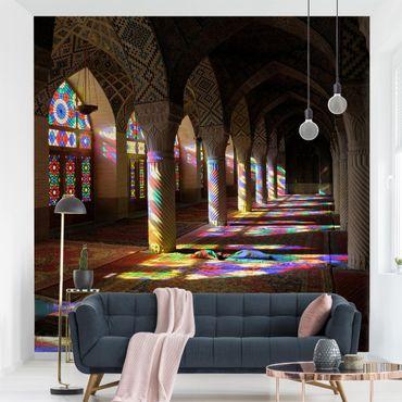 Fototapete Lichter in der Moschee