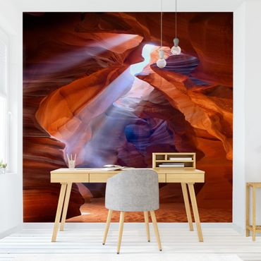 Fototapete Lichtspiel im Antelope Canyon