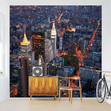Fototapete Manhattan Lights