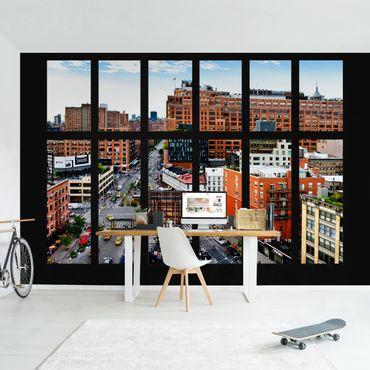 Fototapete New York Fensterblick II