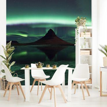 Fototapete Polarlicht in Island