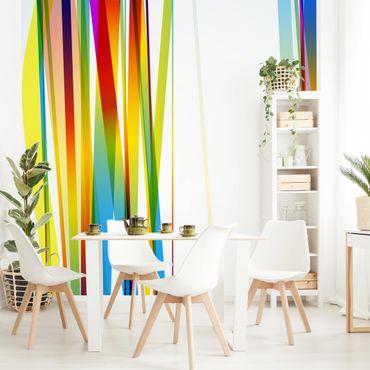 Fototapete Rainbow Stripes