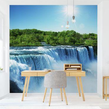 Fototapete Wasserfalllandschaft