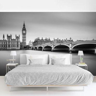 Fototapete - Westminster Brücke und Big Ben