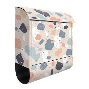 Briefkasten - Terrazzo Muster
