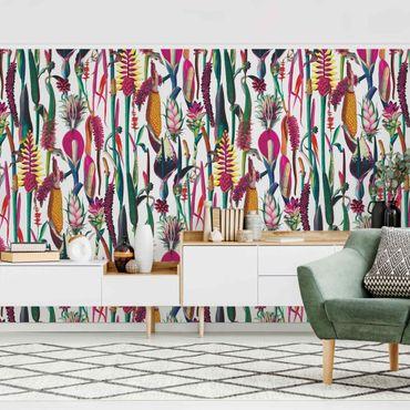 Fototapete - Tropisches Luxus Muster XXL