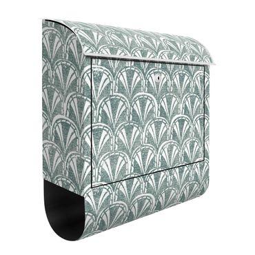 Briefkasten - Vintage Muster Art Deco Bögen