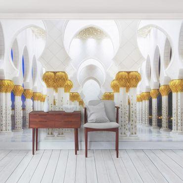 Fototapete Moschee in Gold