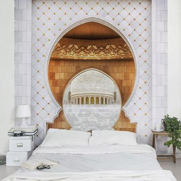 Fototapete Tor der Moschee