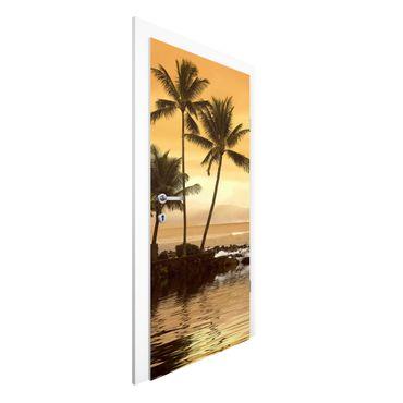 Türtapete - Caribbean Sunset I