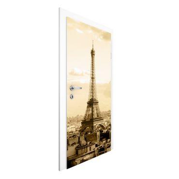Türtapete - I Love Paris