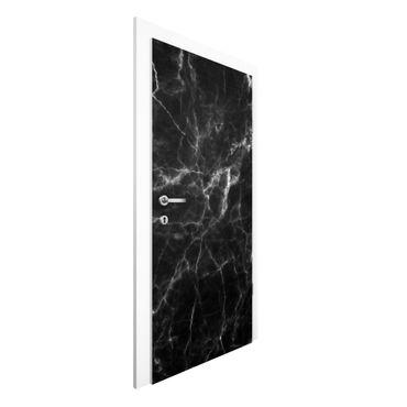 Türtapete - Nero Carrara