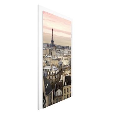 Türtapete - Paris hautnah