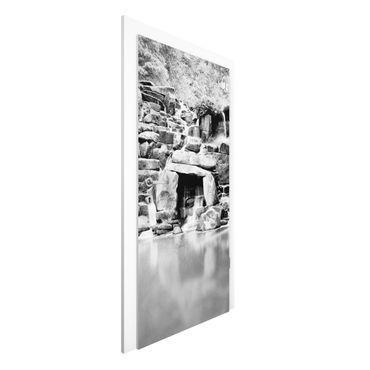 Türtapete - Wasserfall II