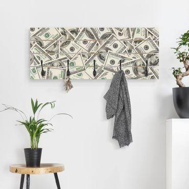 Wandgarderobe Holz - Dollars