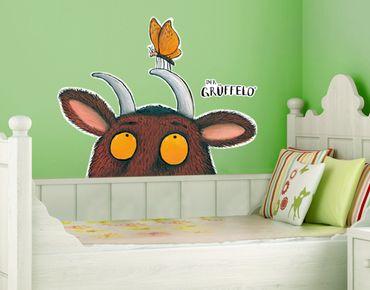 Wandtattoo Babyzimmer Wald Grüffelo - Mit Schmetterling