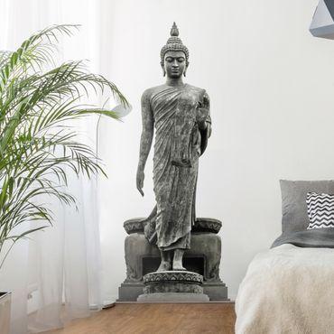 Wandtattoo Buddha Statue