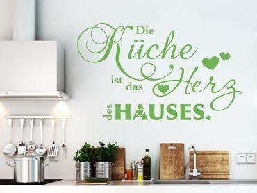 Wandtattoo Die Küche...