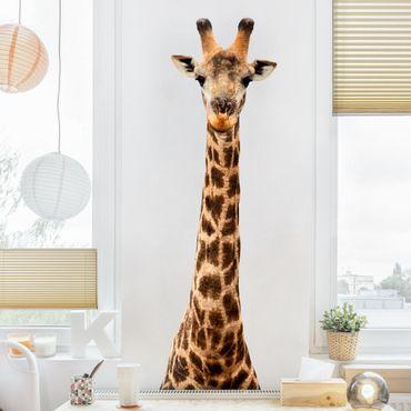 Wandtattoo Giraffe Giraffenkopf