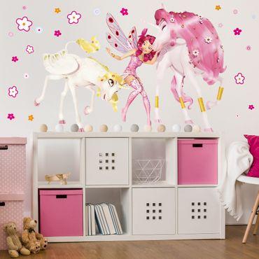 Wandtattoo Kinderzimmer Mia and Me - Mia Onchao und Lyria