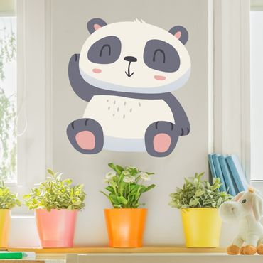 Wandtattoo Kinderzimmer Süßer Panda