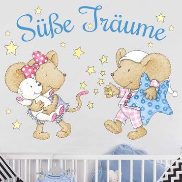 Wandtattoo - Lillebi und Kikibell Süße Träume