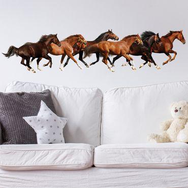 Wandtattoo Pferd No.420 Pferdeherde