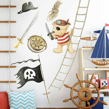 Wandtattoo - Pitzelpatz als Pirat