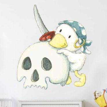 Wandtattoo - Schnaddeldatz als Pirat
