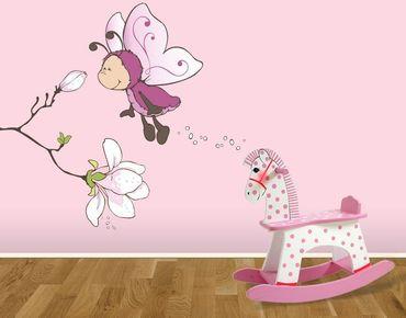 Wandtattoo Vivian mit duftender Magnolie