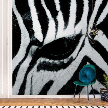 Metallic Tapete  - Zebra Crossing