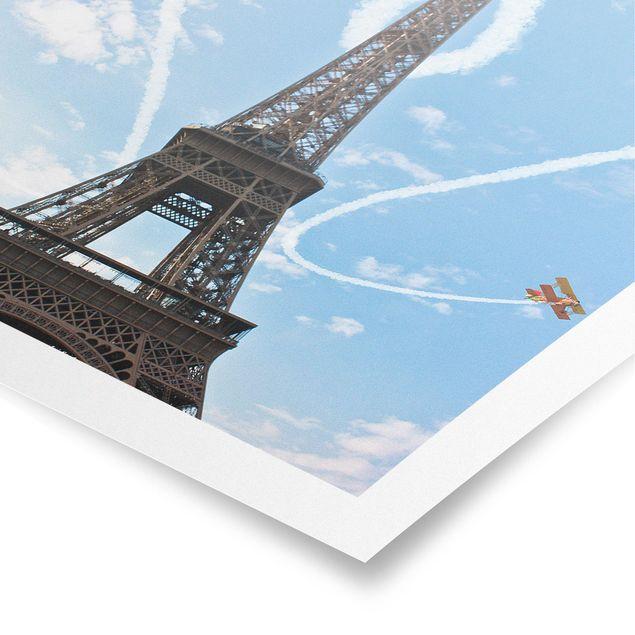 Poster - Paris - City of Love - Quadrat 1:1