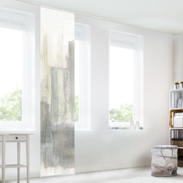 Schiebegardinen Set - Ein Hauch von Pastell II - Flächenvorhang
