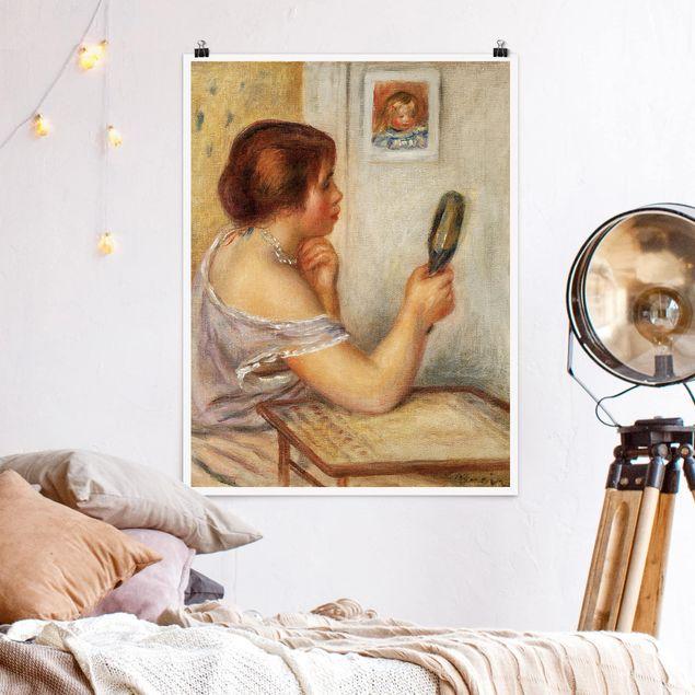 Poster - Auguste Renoir - Gabrielle mit Spiegel - Hochformat 3:4