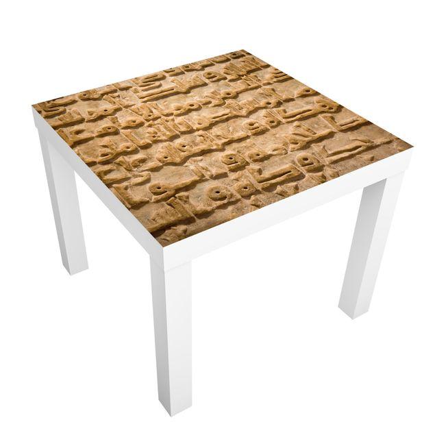 Möbelfolie für IKEA Lack - Klebefolie No.275 Arabische Schrift