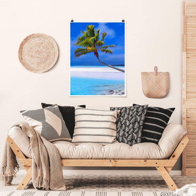 Poster - Tropical Dream - Hochformat 3:4