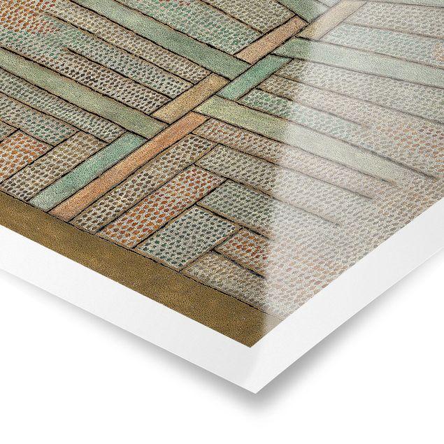Poster - Paul Klee - Kiefer - Quadrat 1:1