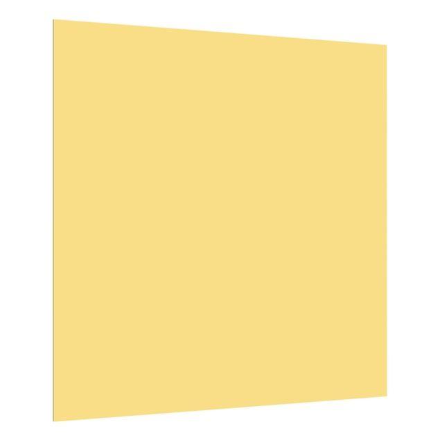 Glas Spritzschutz - Honig - Quadrat - 1:1