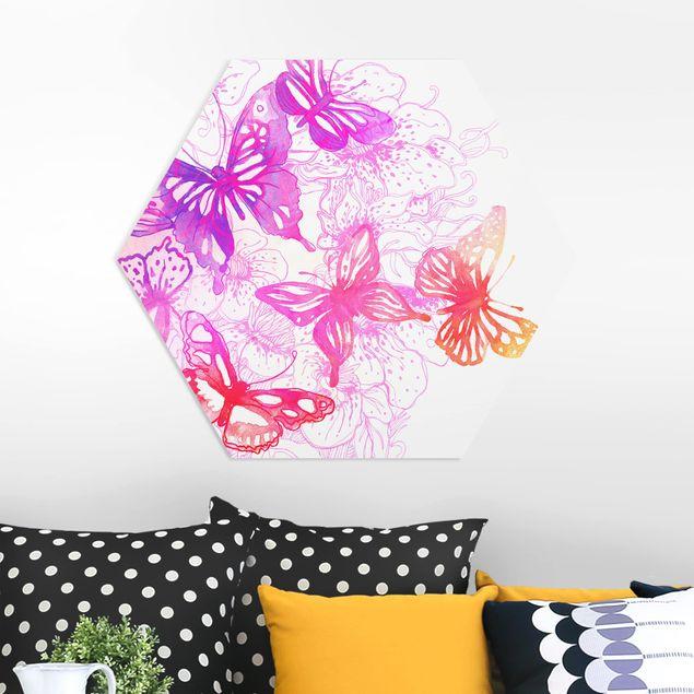 Hexagon Bild Forex - Schmetterlingstraum