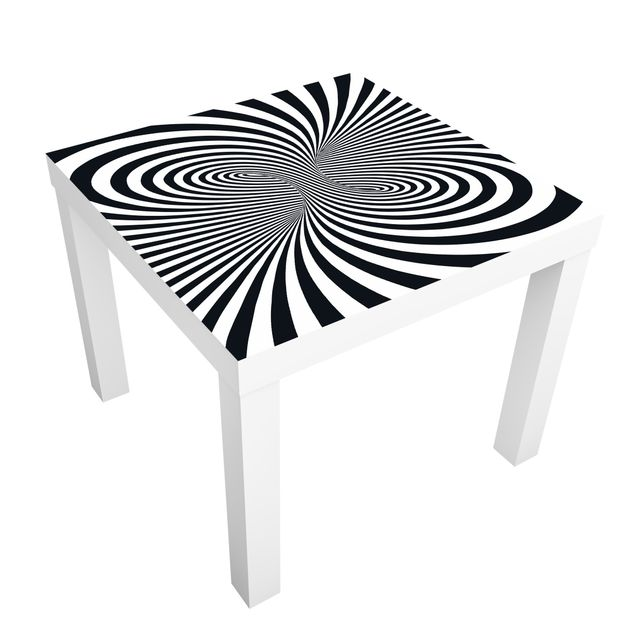 Möbelfolie für IKEA Lack - Klebefolie Optiktornado