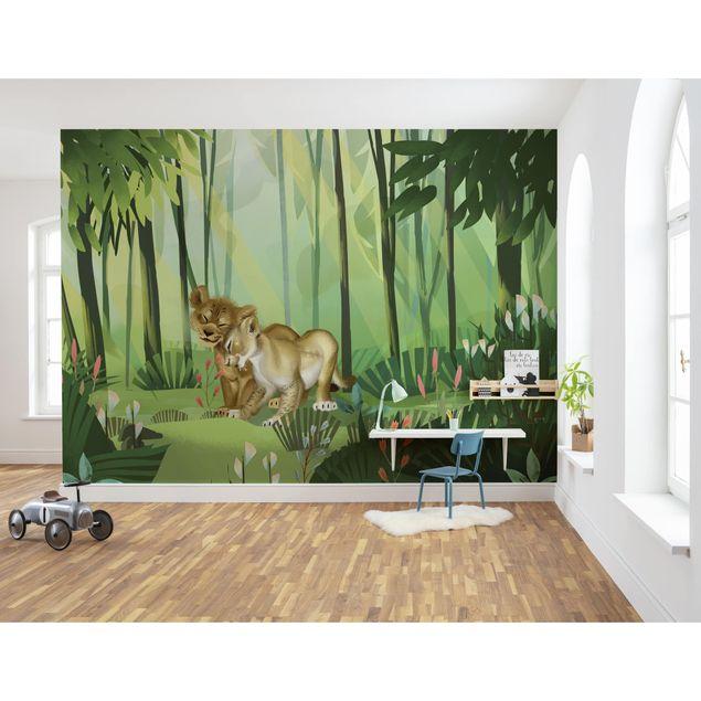 Disney Kindertapete - Lion King Love - Komar Fototapete
