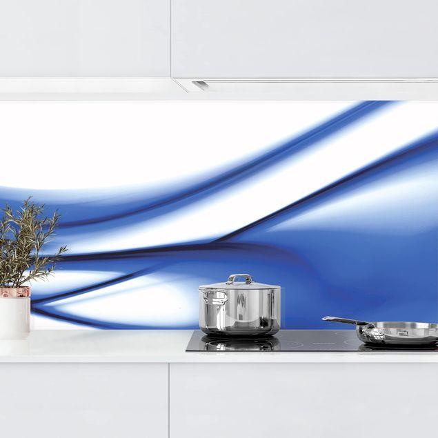 Küchenrückwand - Blue Touch