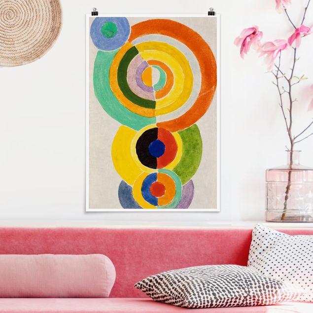 Poster - Robert Delaunay - Rhythmus I - Hochformat 3:2